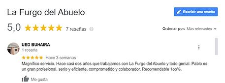 Reseñas de La Furgo del Abuelo, Alquiler de furgonetas adaptadas, alquiler furgonetas adaptadas, alquiler furgoneta adaptada, furgoneta adaptada