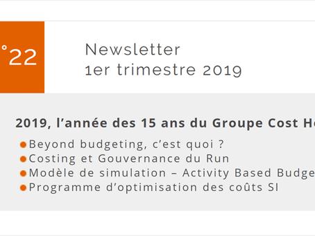 Newsletter 1er trimestre 2019