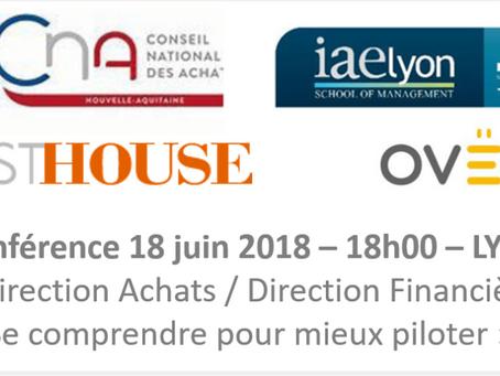 Conférence le 18 juin 2018