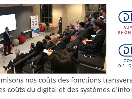 """""""Optimisons nos coûts des fonctions transverses, focus sur les coûts du digital et des [...]"""""""
