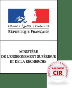 Agrément CIR - Ministère de la Recherche