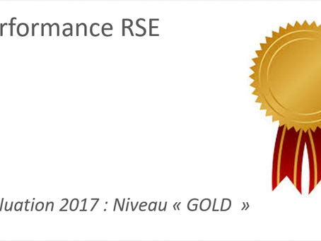 "Performance RSE: Niveau ""Gold"" pour Cost House"