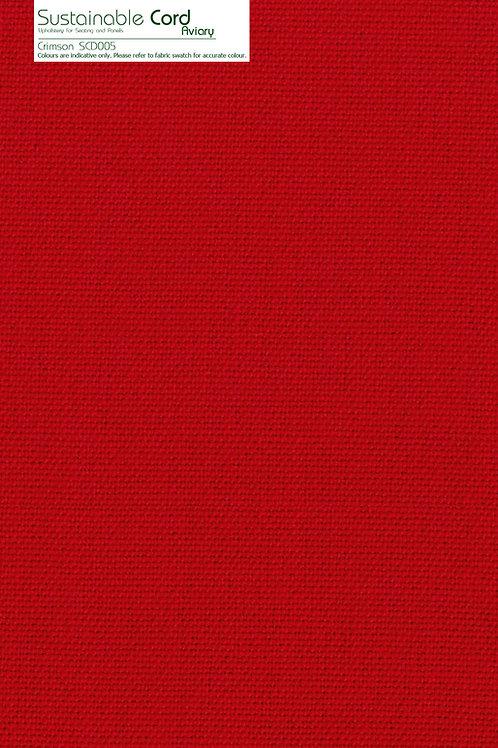 SUSTAINABLE CORD Crimson SCD005