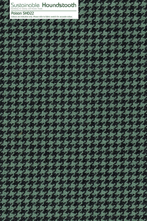 SUSTAINABLE HOUNDSTOOTH Poison SHD22