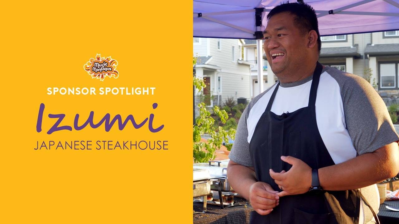 Thank you Allen Song of Izumi Japanese Steakhouse for bringing such amazing food to our concert series and supporting this community event! If you haven't been to his restaurant we highly recommend it. Great time and amazing food for the whole family