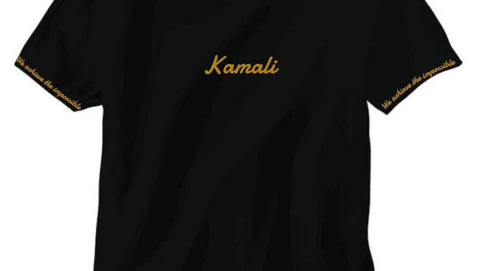 black kamali t shirt