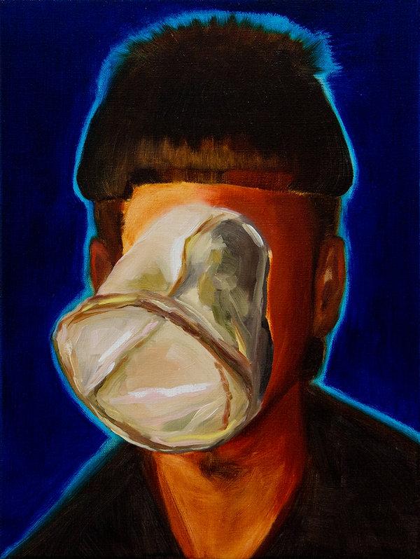 Sally Kindberg, Tyrone, 2014 oil on linen,40x30cm, art, artist, painting, contemporary painting, contemporary art