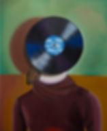 Kindberg Head Space oil on canvas 110x90 cm
