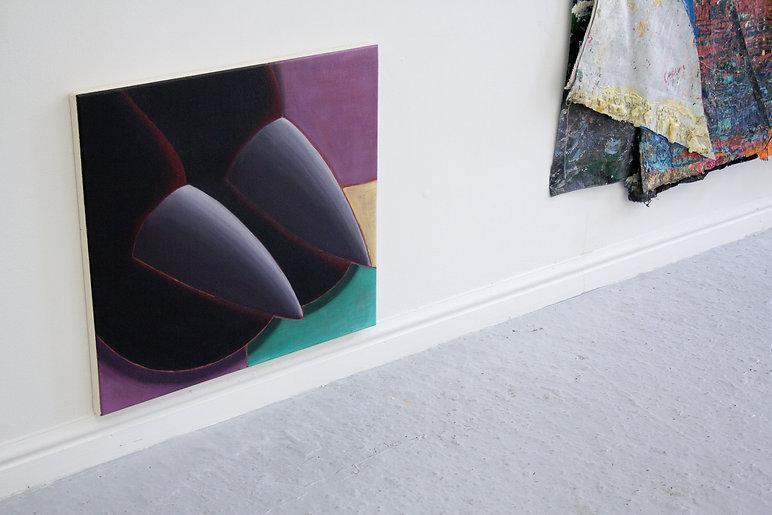 Sally Kindberg instal image Modern Finance, cougar attack, 2019