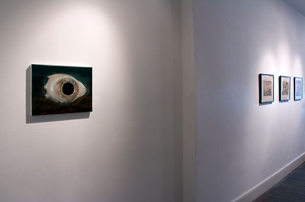 Sally Kindberg, Sculptor, 2015 atAnthology,Charlie SmithLondon oil on linen, 40x30 cm, art, artist, painting, contemporary painting, contemporary art