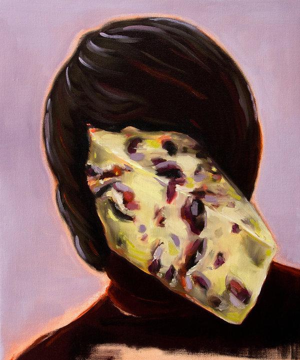 Sally Kindberg, Alicja, 2014 oil on linen, 60x50 cm, art, artist, painting, contemporary painting, contemporary art