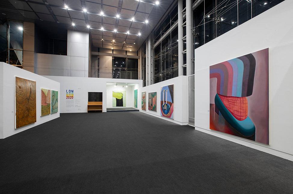 Sally Kindberg, LONDON NOW, 2020 Space K, Seoul, South Korea Copyright Jun Ho Lee