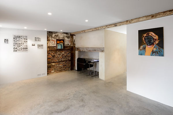 Sally Kindberg, install shots from Peter Von Kant, 2014, art, artist, painting, contemporary painting, contemporary art