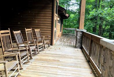 Building B Porch