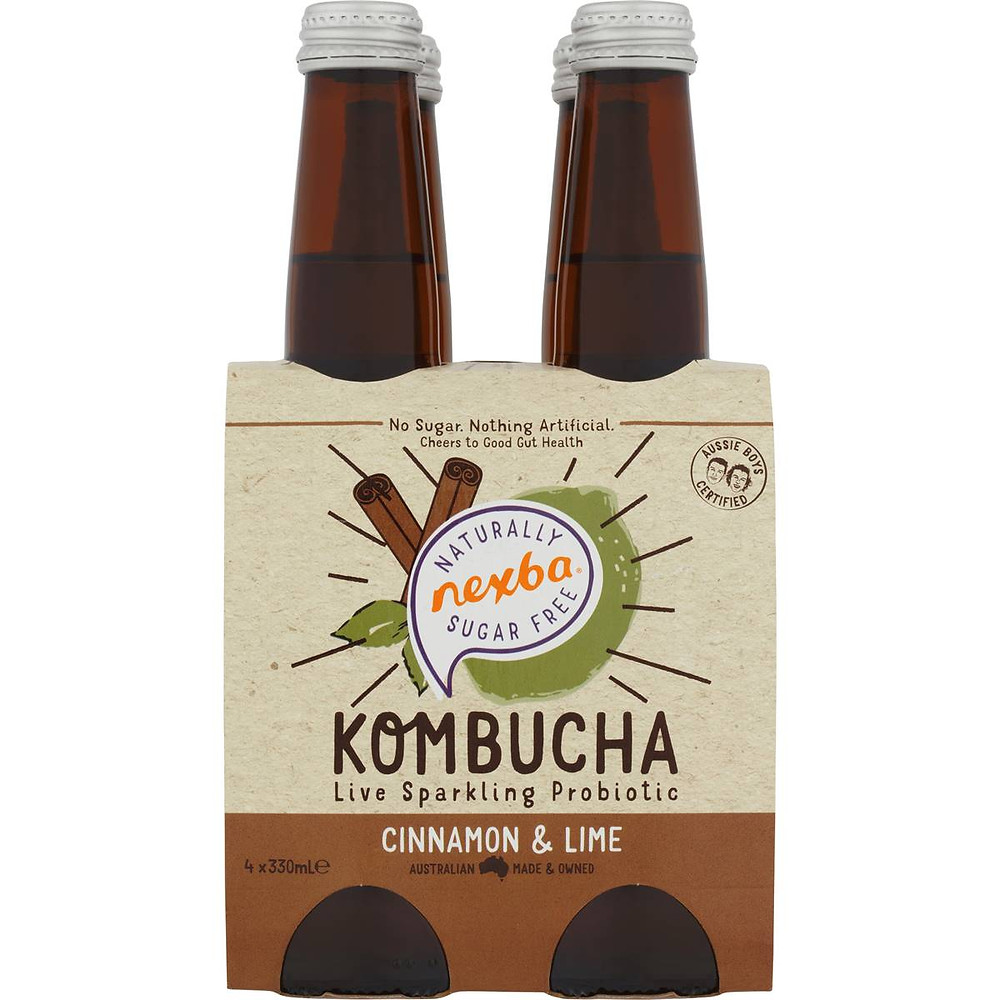 Image of Nexba Kombucha Cinnamon & Lime