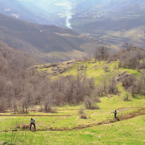 Construction and blazing of hiking trails in Togh, Artsakh (TECHNICAL REPORT)