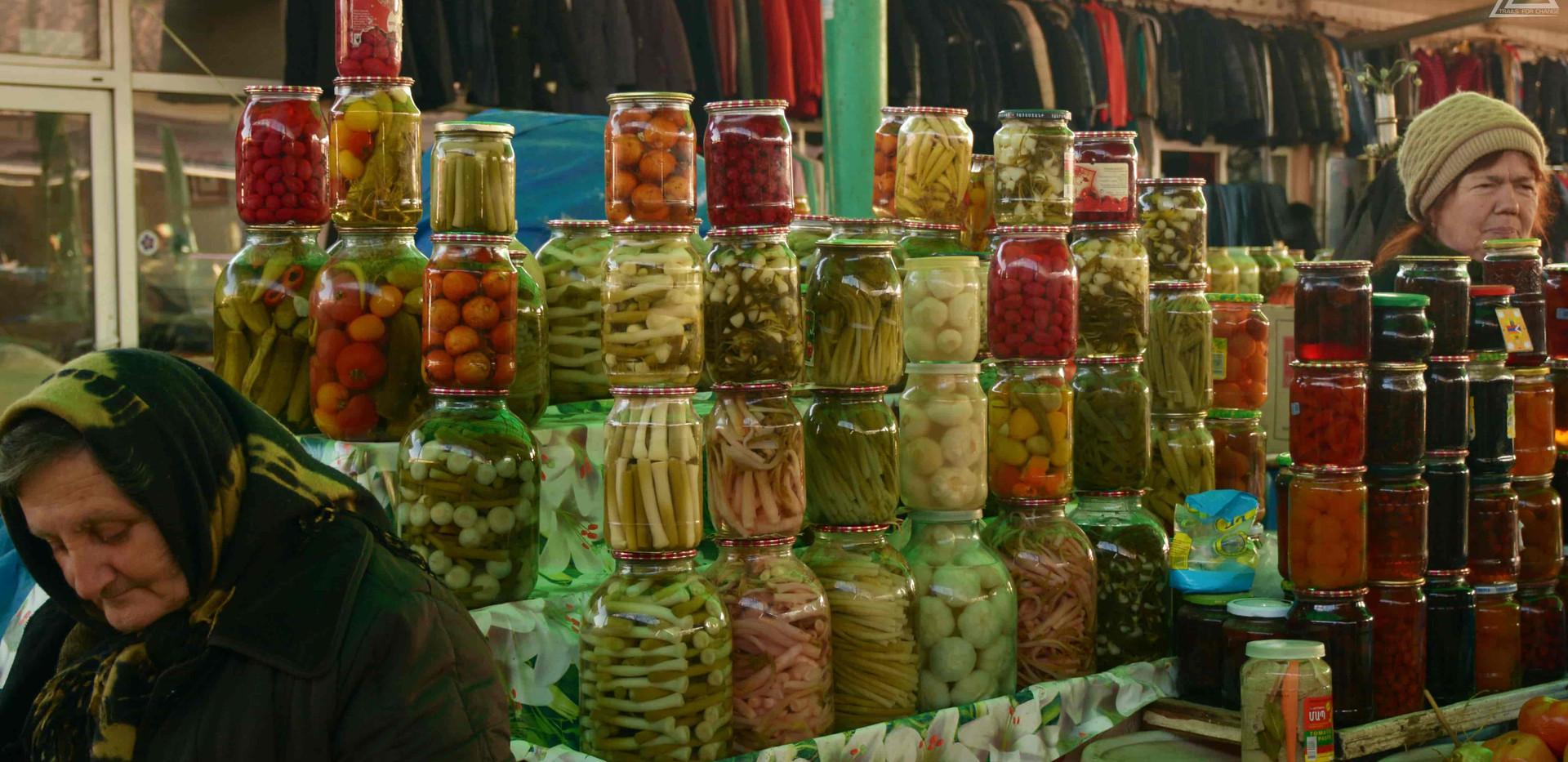 food market at Stepanaker