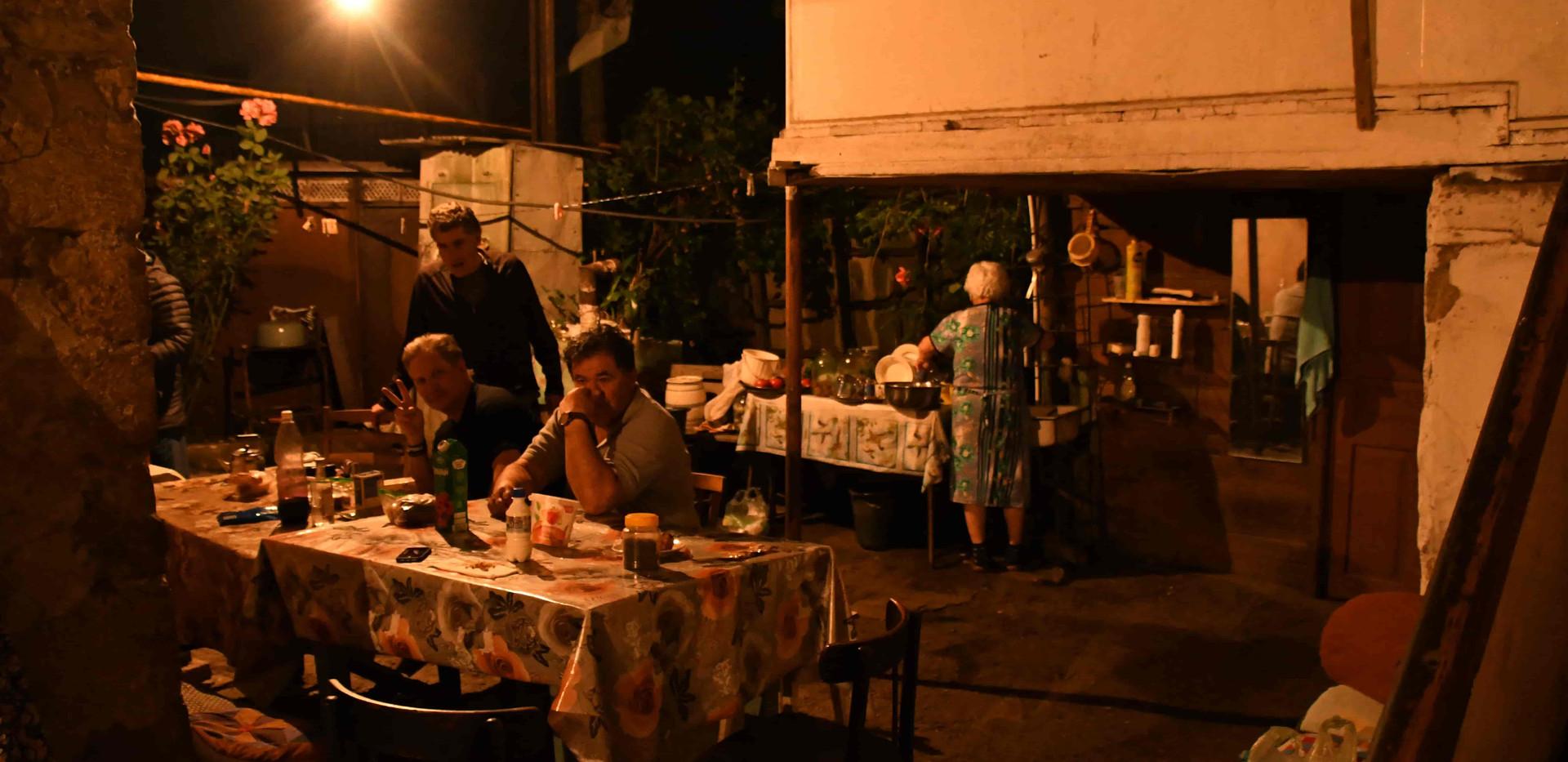 dinner in Karmir Shuka
