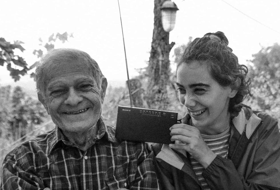 Tsovinar's favorite grandpa Karlen