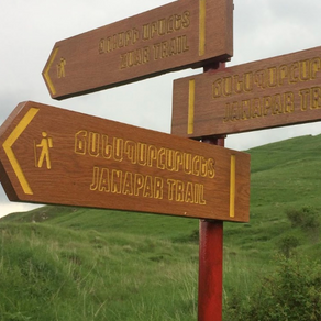 Signposting of the Janapar Trail and other hiking trails in Artsakh (TECHNICAL REPORT)