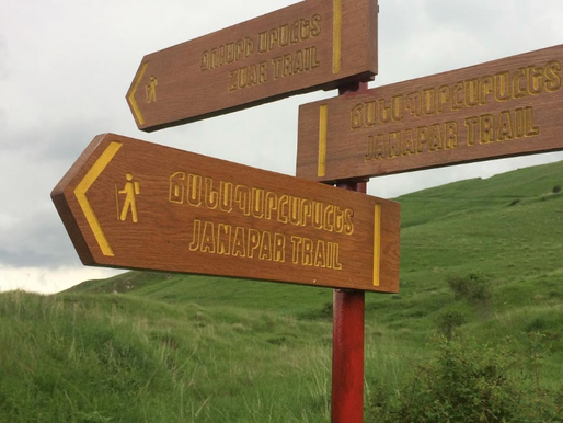 TECHNICAL REPORT (Signposting of the Janapar Trail and other hiking trails in Artsakh)