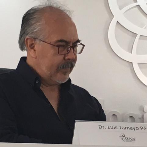 Ponente Dr. Luis Tamayo Pérez