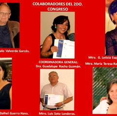 Colaboradores de cepcis del 2do congreso