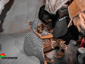 CACEMAR doa colchões a viúvas na África que dormiram a vida inteira no chão