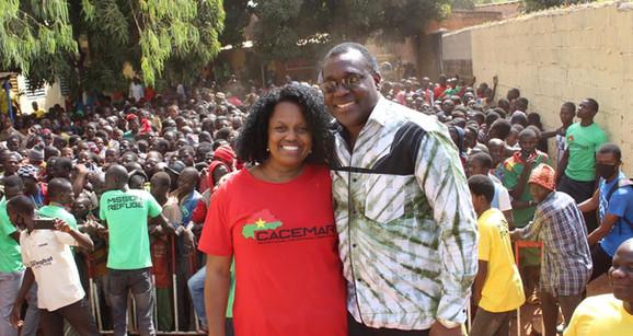 Pastor. Mamadou e Missionária Rejane Kologo