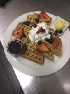 50/50 Waffles