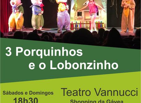 3 PORQUINHOS E O LOBONZINHO 2019