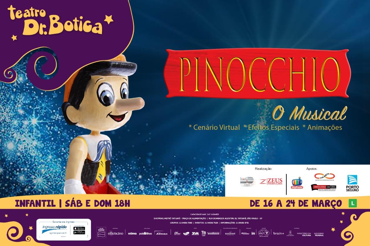Pinocchio em São Paulo