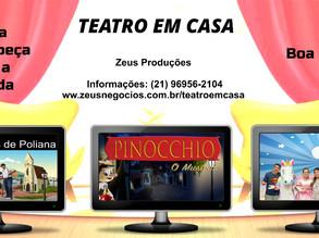 Teatro em Casa