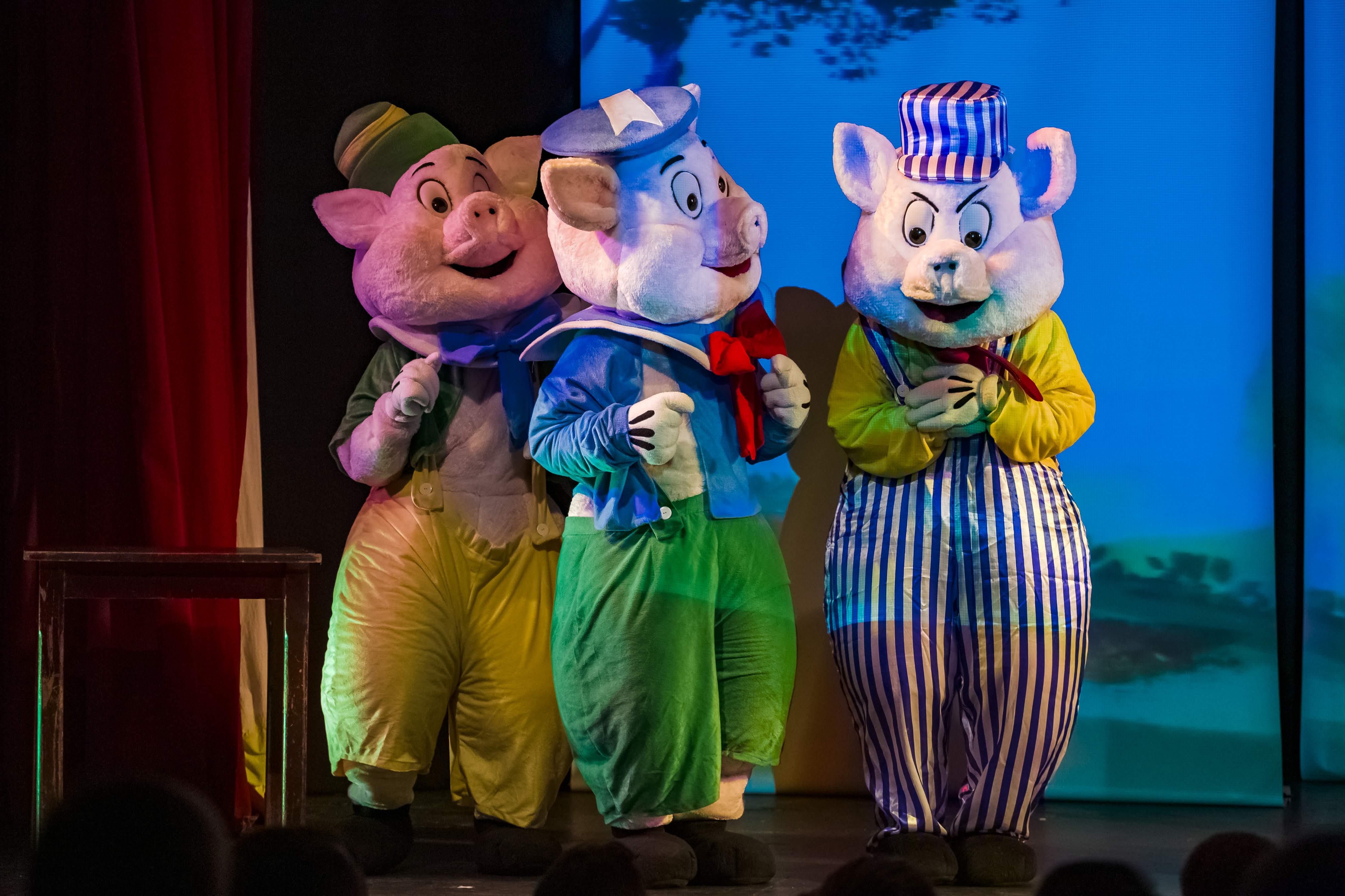 3 Porquinhos e o Lobonzinho