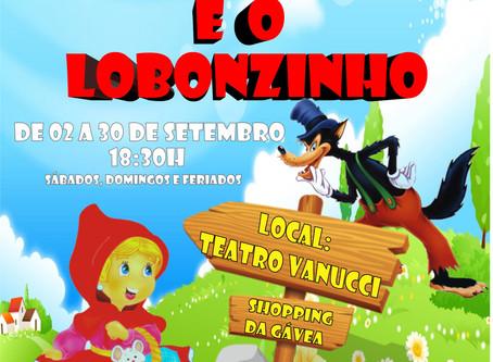 CHAPEUZINHO VERMELHO E O LOBONZINHO