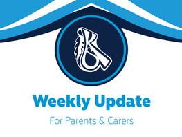 Headteacher's Weekly Update - 24th September 2021