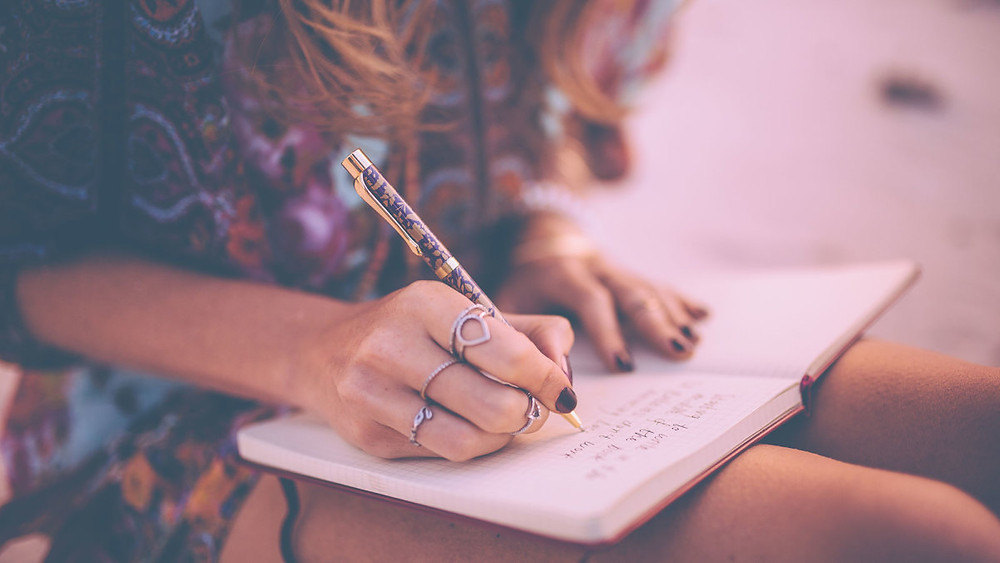 Girl Journaling Feelings