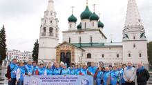 75 лет со дня Курской битвы: Ярославль встречает ХХVIII Международный Марш Мира
