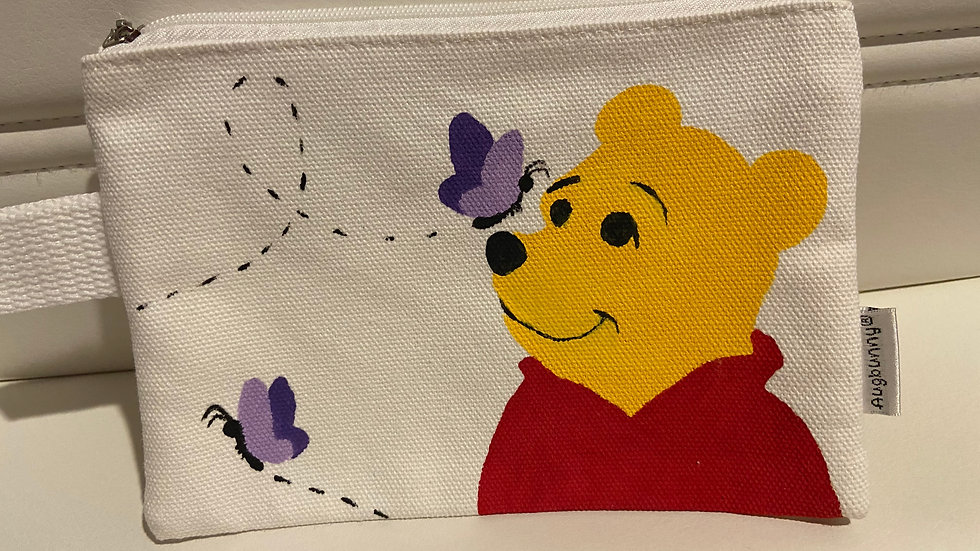 Pooh and Butterflies Wristlet