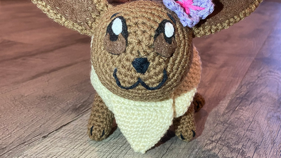 Eevee Crochet Plush