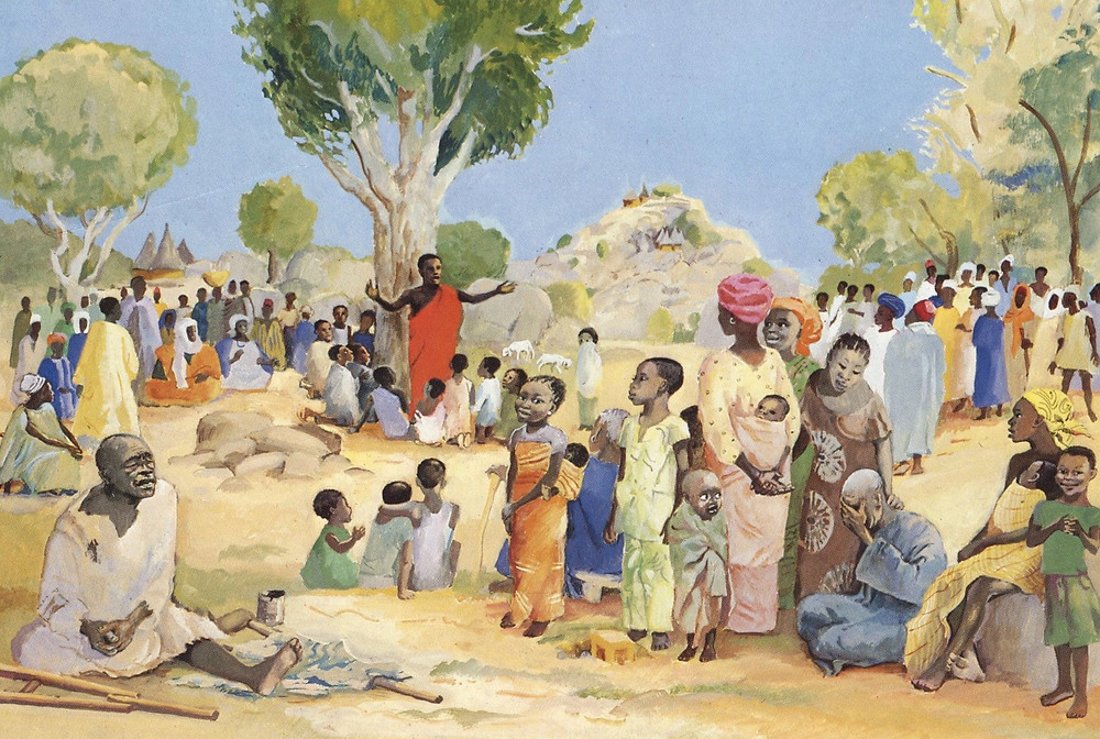 """Sermon on the Mount"" JESUS MAFA"