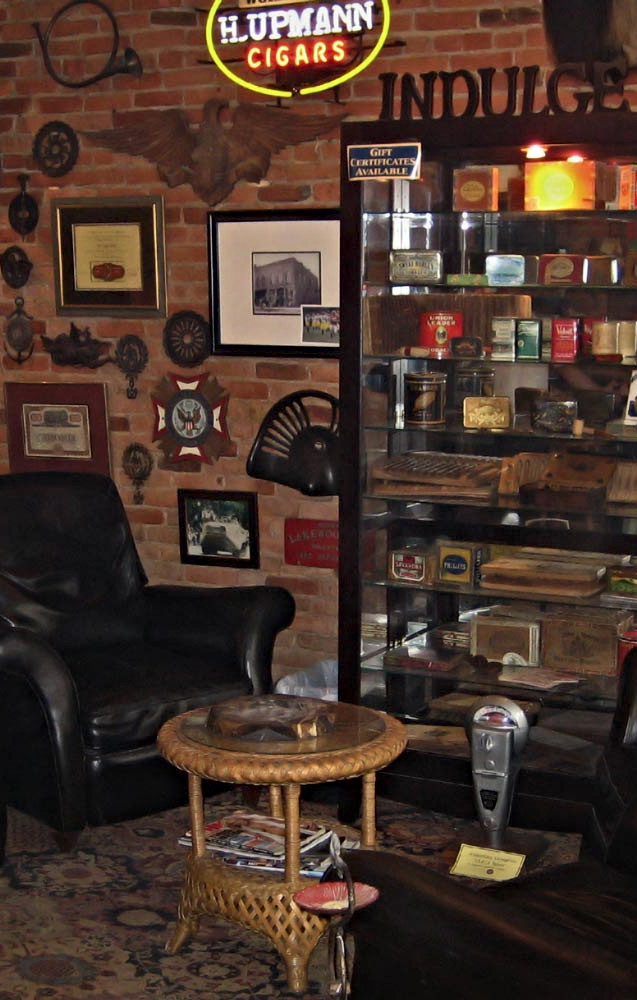 The Lounge at The Cigar Affair