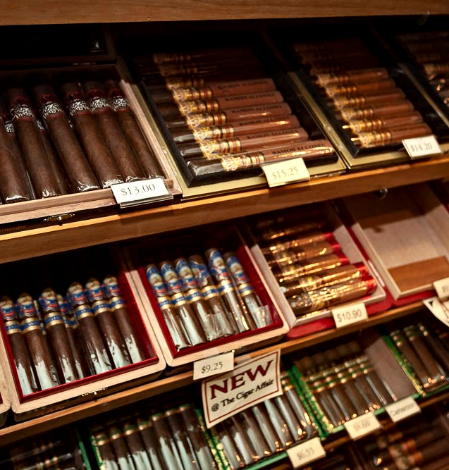 By the stick or box - The Cigar Affair