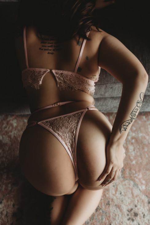 Amanda Manacio Photography Pink Lingerie