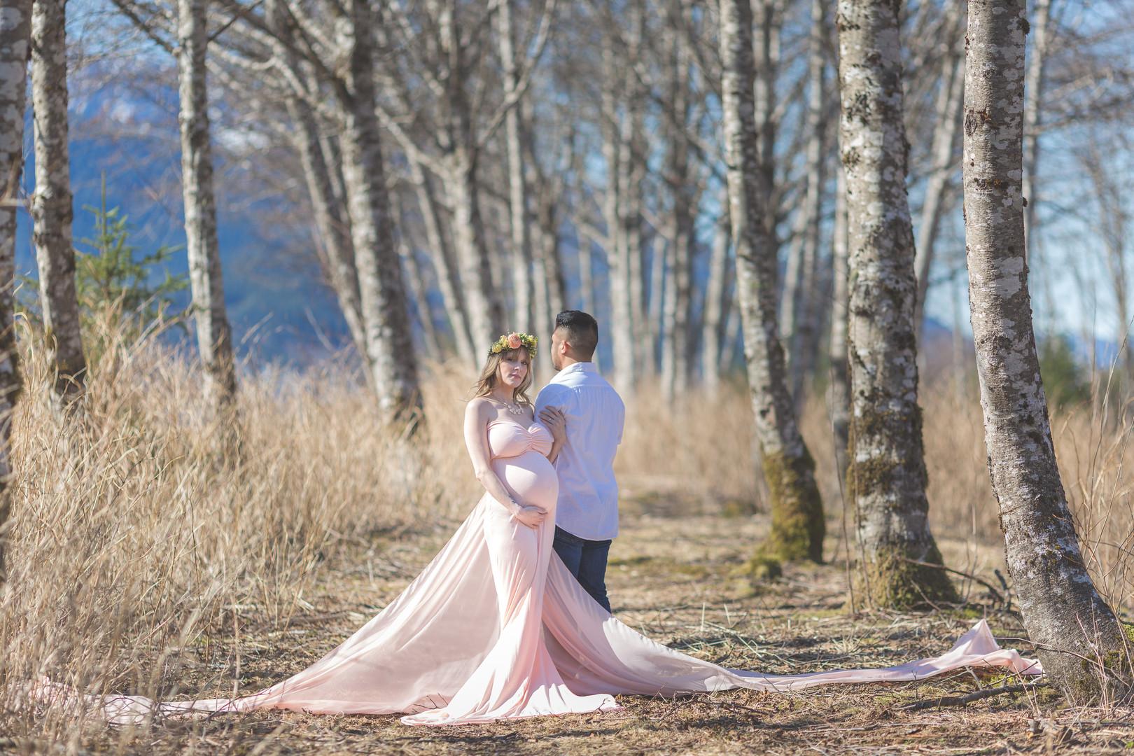 juneau alaska maternity photos