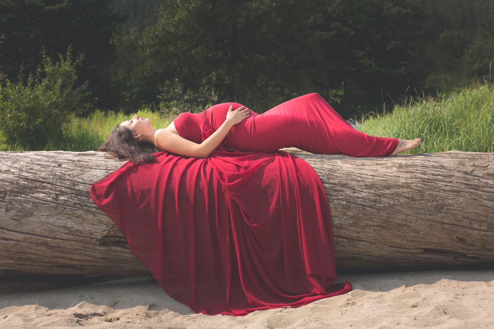 juneau maternity photographer