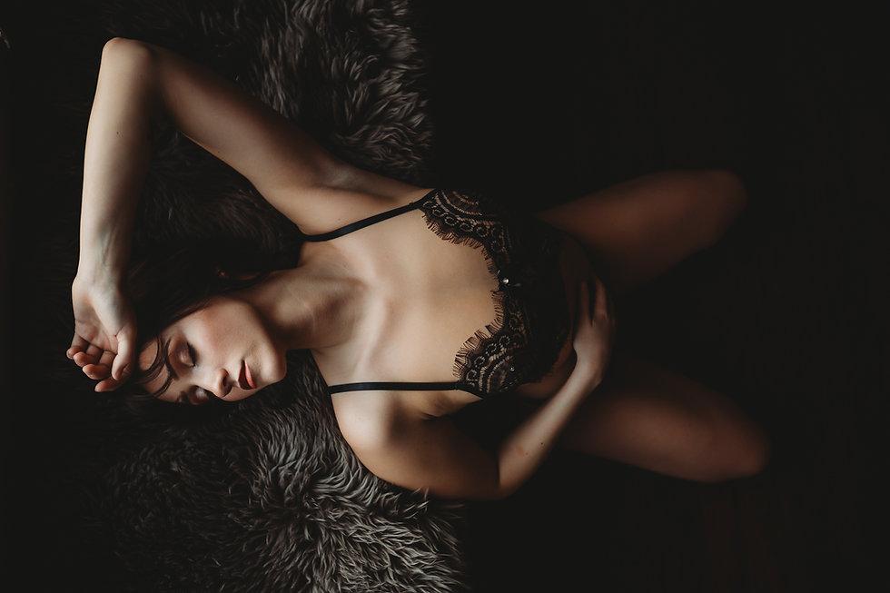 Amanda Manacio Photography Black Bralett