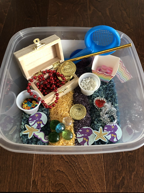 Mermaids and Pirates BusyBox
