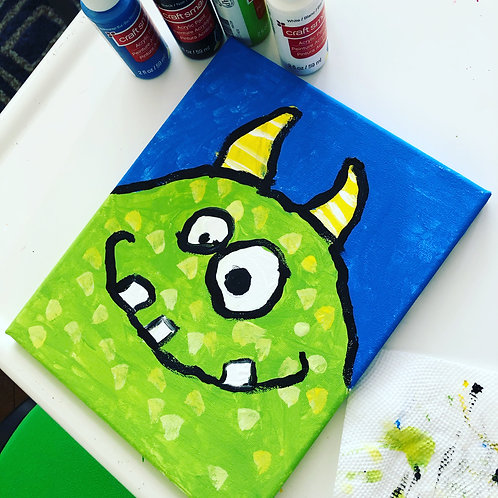 Paint With Me: Monster