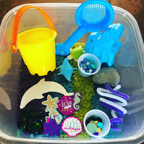 Under the sea Busy box